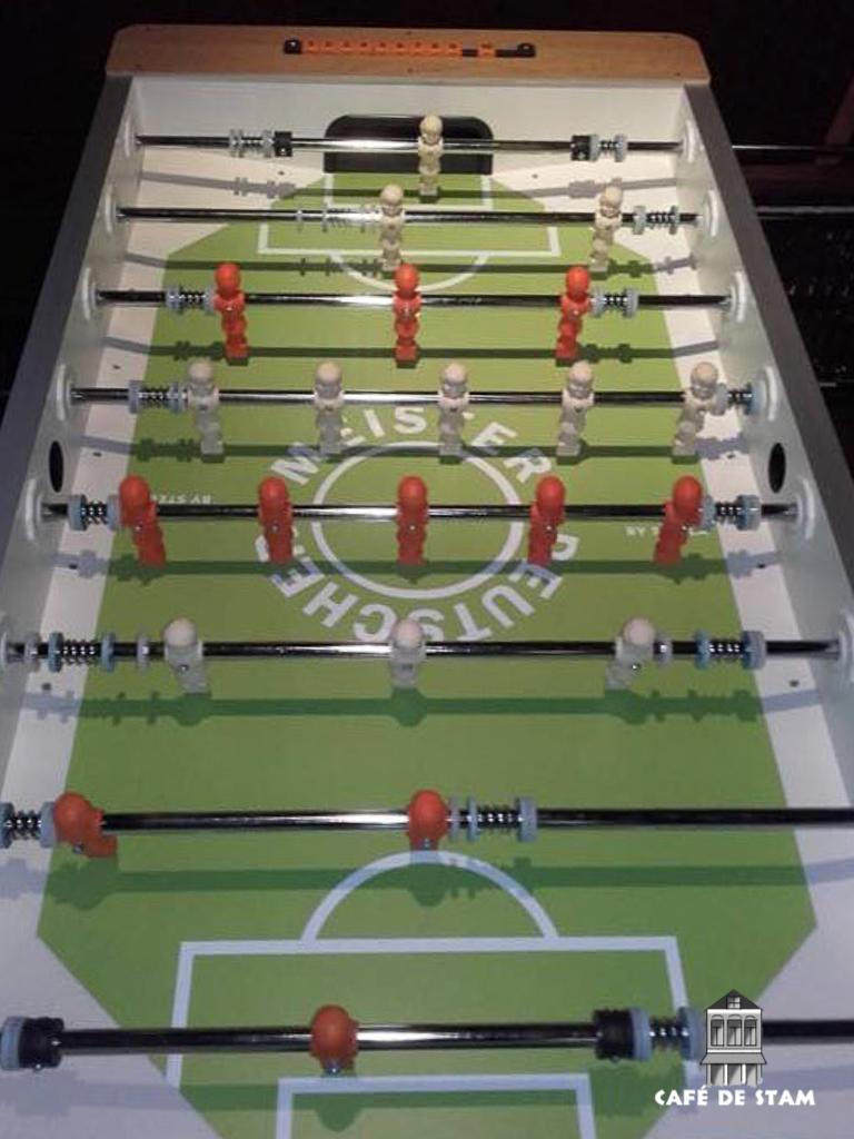 CAFE DE STAM - Tafelvoetbal