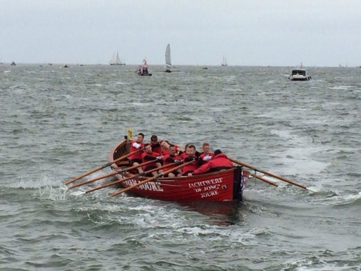 Grutte en Lytse Bear in middenmoot Harlingen-Terschellingrace