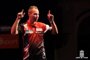 2016-0327 CAFE DE STAM - Darter Noppert gaat naar Winmau World Masters in Londen