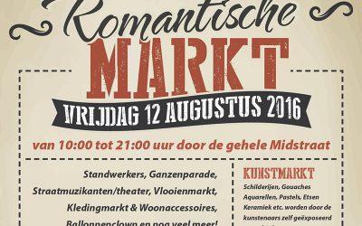 Zaterdag 12 augustus – Romantische markt