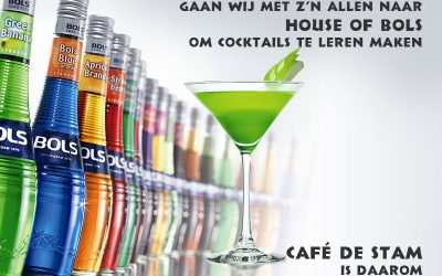 Woensdag 12 oktober is Café de Stam gesloten