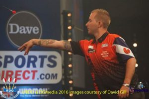 Danny Noppert is tevreden over loting Grand Slam of Darts