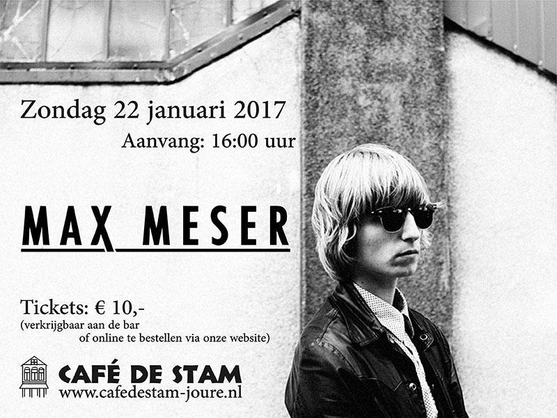Live Optreden Max Meser