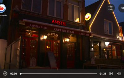 Reportage Omrop Fryslan – Lakeside Dartsfinale in Café de Stam
