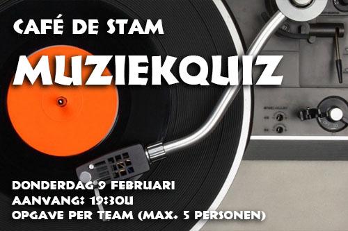 Café De Stam - Muziekquiz