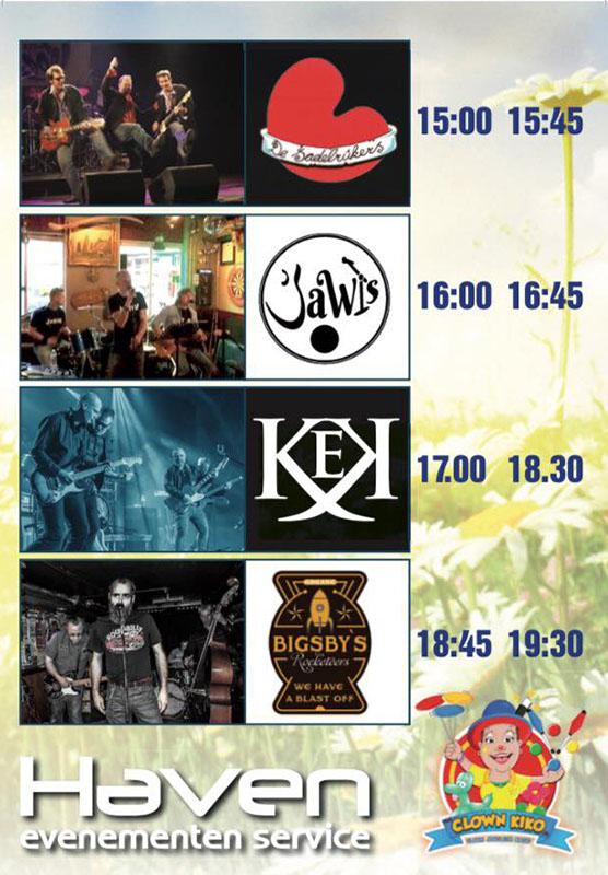 Hemelvaart Festival Joure - Café de Stam