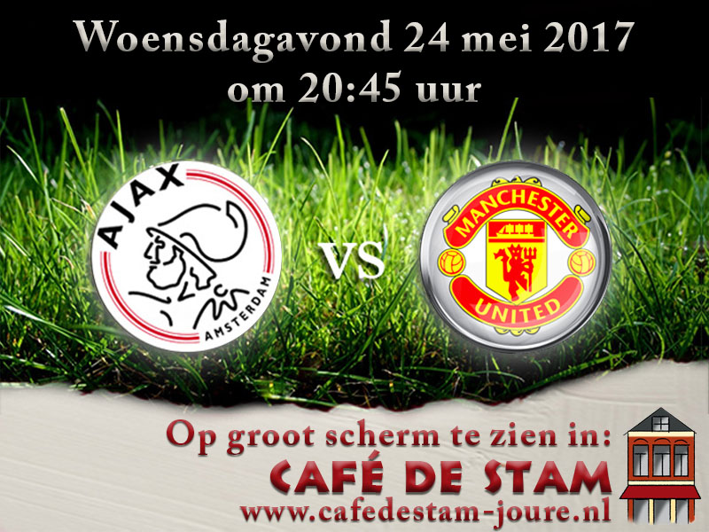 24 mei – UEFA Europa League Finale:  Ajax – Manchester United