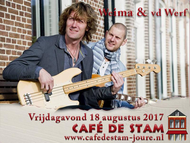 Optreden Weima & vd Werf - Café de Stam Joure