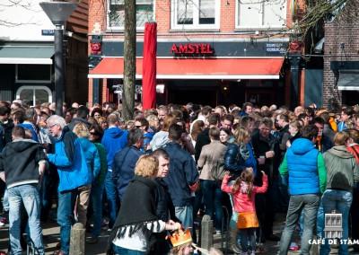 2013-0430 CAFE DE STAM - Koningsdag (Foto: Wietske Vellinga)