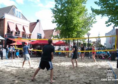 31 augustus 2013 - Beachvolleybal Café de Stam