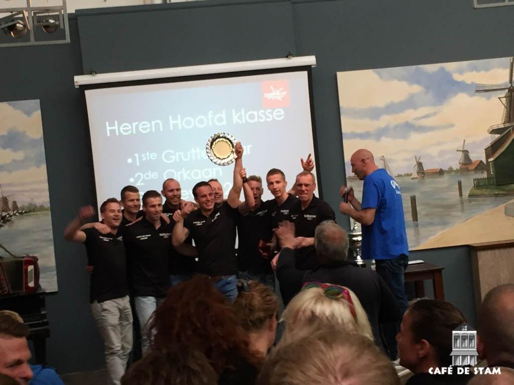 2016-0418 CAFE DE STAM - Grutte Bear winnaar Zaanse Slag II